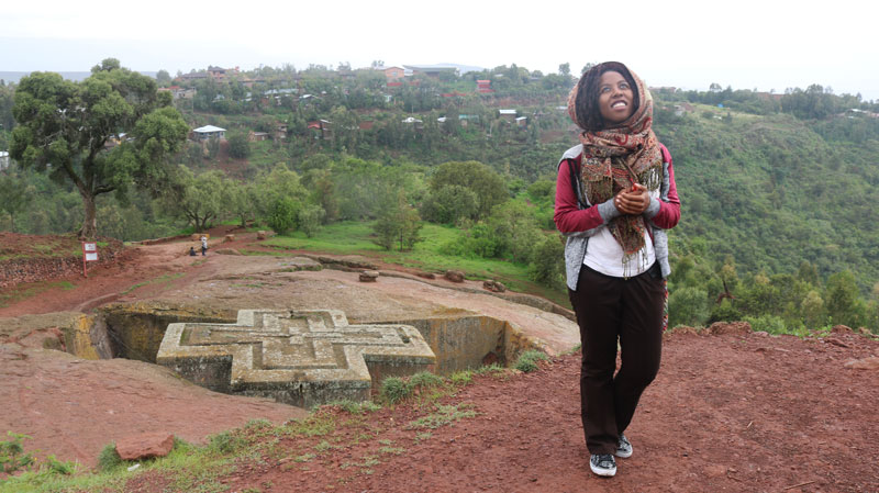 Siera-in-Lalibela Amharic Study Abroad Program Summer 2018