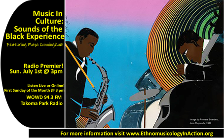 Music In Culture Sounds of the Black Experience on WOWD 94.3 fm