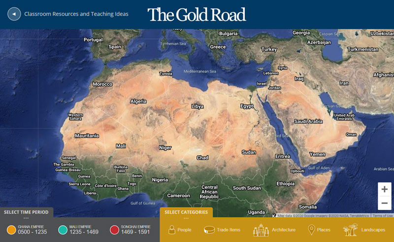 The-Gold-Road-Map