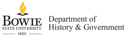 Bowie State University Department of History & Government
