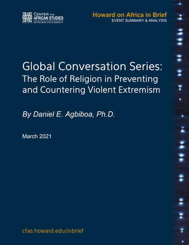 Global Conversation Series: The Role of Religion in Preventing and Countering Violent Extremism