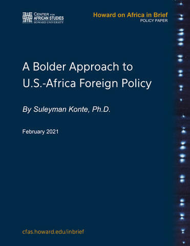 A Bolder Approach to U.S.-Africa Foreign Policy